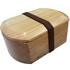入園入学のお祝いに木製お弁当箱  豆型木製お弁当箱